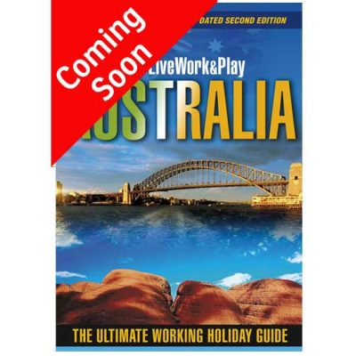 Cover Of Live Work And Play In Australia Travel Guide By Sharyn McCullum