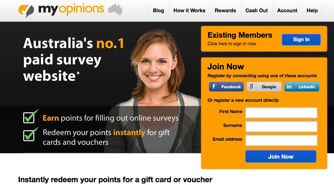 Make money doing paid online surveys