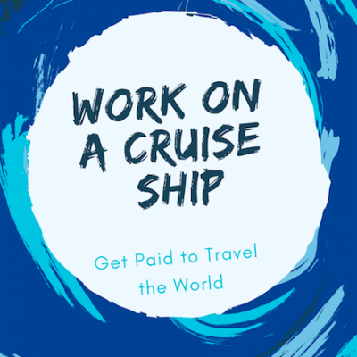 Work On A Cruise Ship ebook Cover 2019