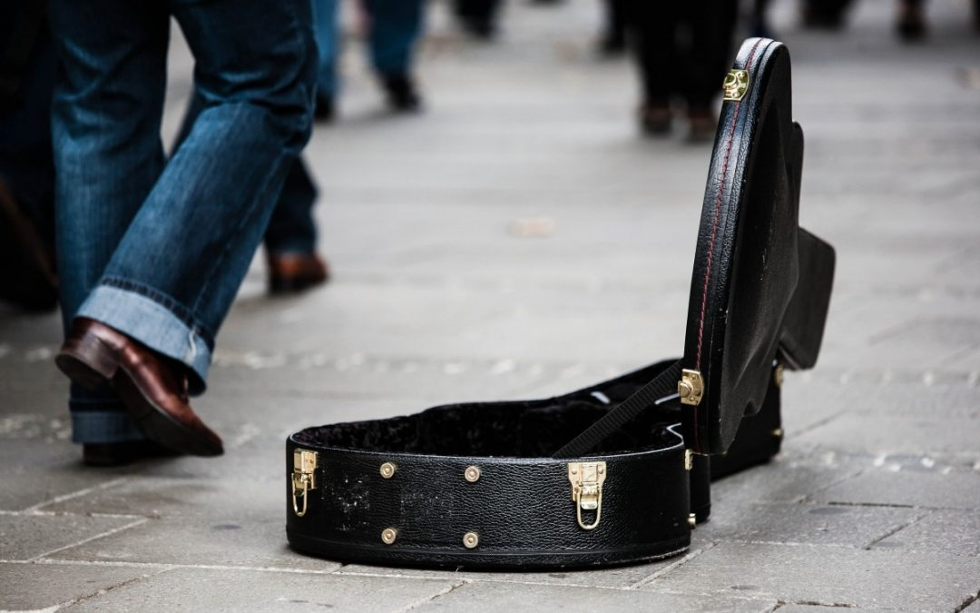 Busking or Street Performing | How to make money performing on the Street