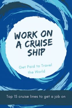 Work On A Cruise Ship Ebook Cover.