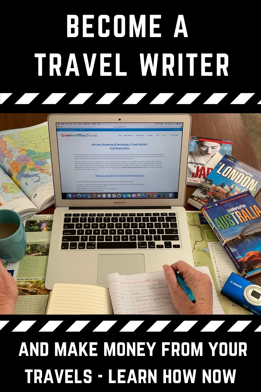#TravelWritingCourse #BecomeATravelWriter