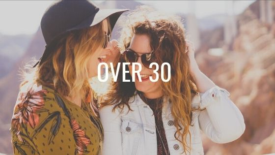Two women in their 30s who are travelling