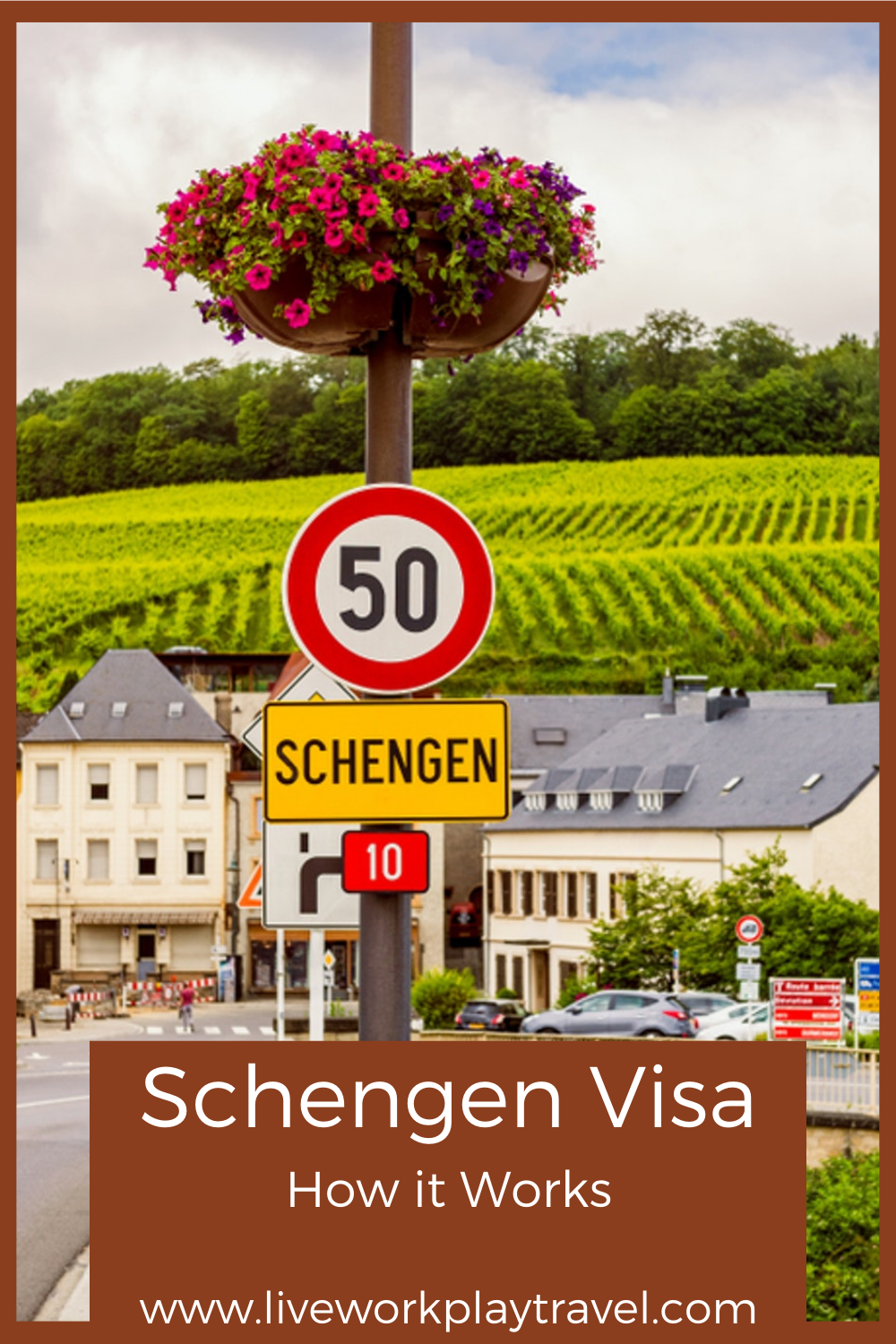 Town Of Schengen Where Schengen Visa Was Signed PIN