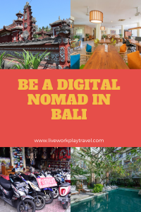 Bali For Digital Nomads Pin