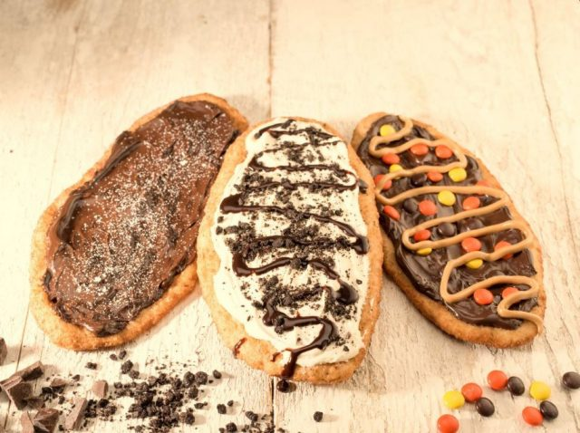 Canadian Beaver Tails Are Pastries In The Shape Of Beaver Tails With Sweet Things On Top.