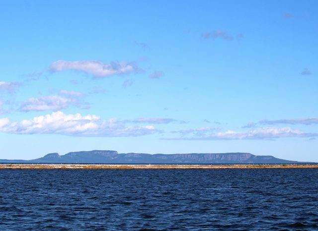 Sleeping Giant Mountain In Thunder Bay Canada.