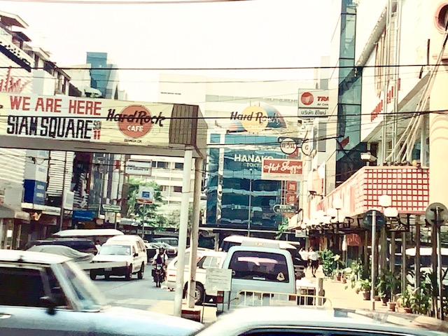 Siam Square Is One Of The Largest Shopping Centres In Bangkok.