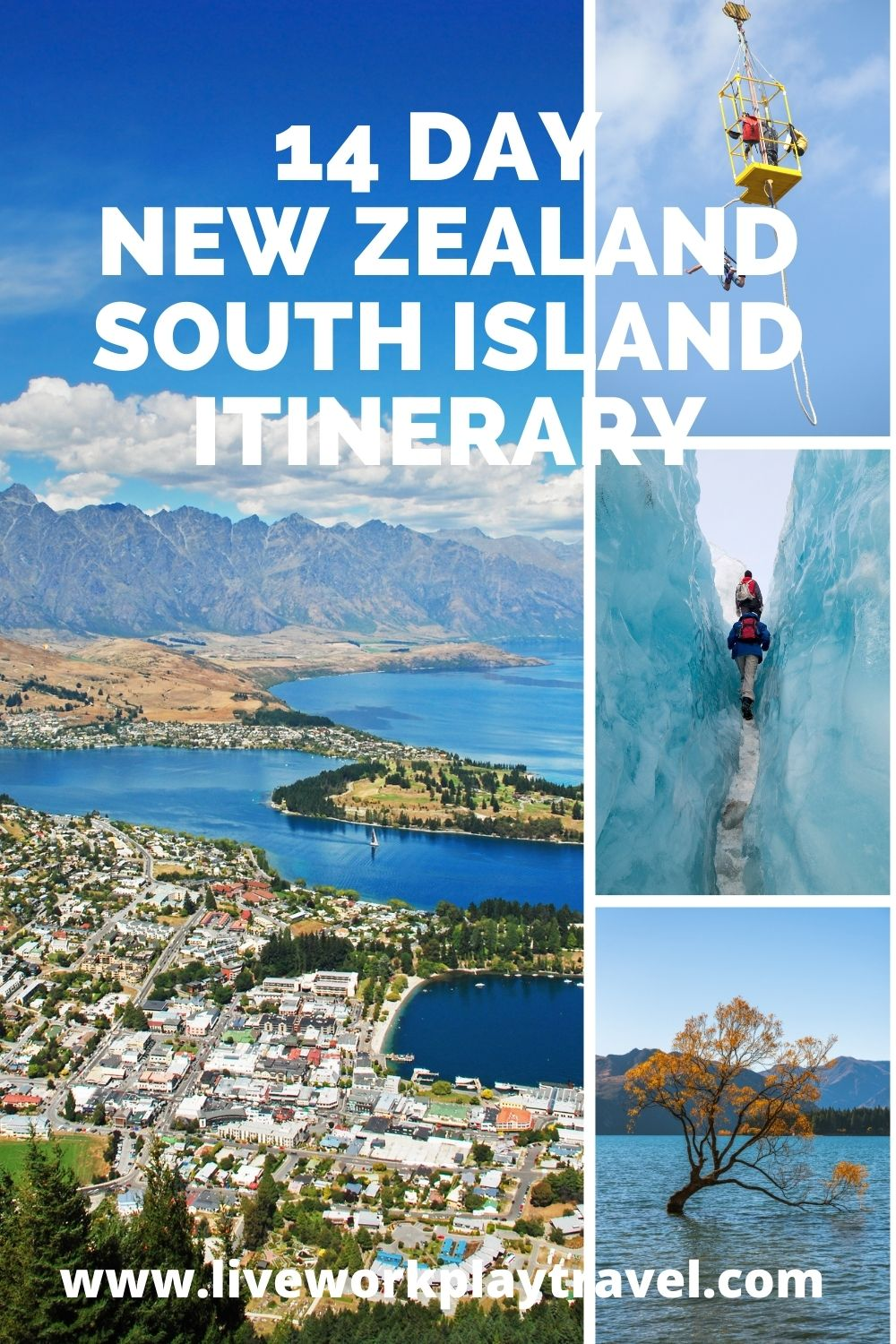 New Zealand's South Island Has Beautiful Bodies Of Water Called Sounds And Apart From All The Beautiful Things To See Like Glaciers It Is Also The Adrenalin Capital Of The World.  Why Not Bungee Jump Or Sky Dive.