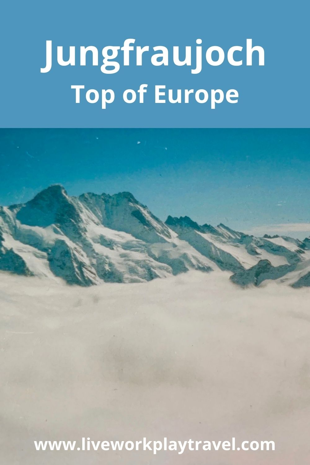 At The Top Of The Jungfraujoch You Will Have Views Over The Glacier And Be Standing On Top Of Europe.