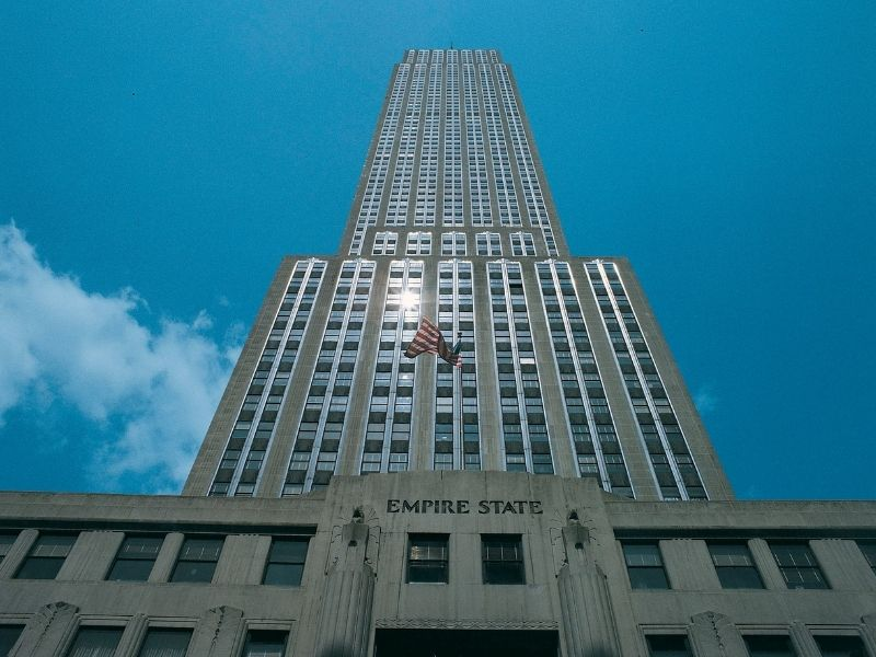 Empire State Building Is One Of The Tallest Buildings In The World. Go To The Top For Great Views Of New York City.
