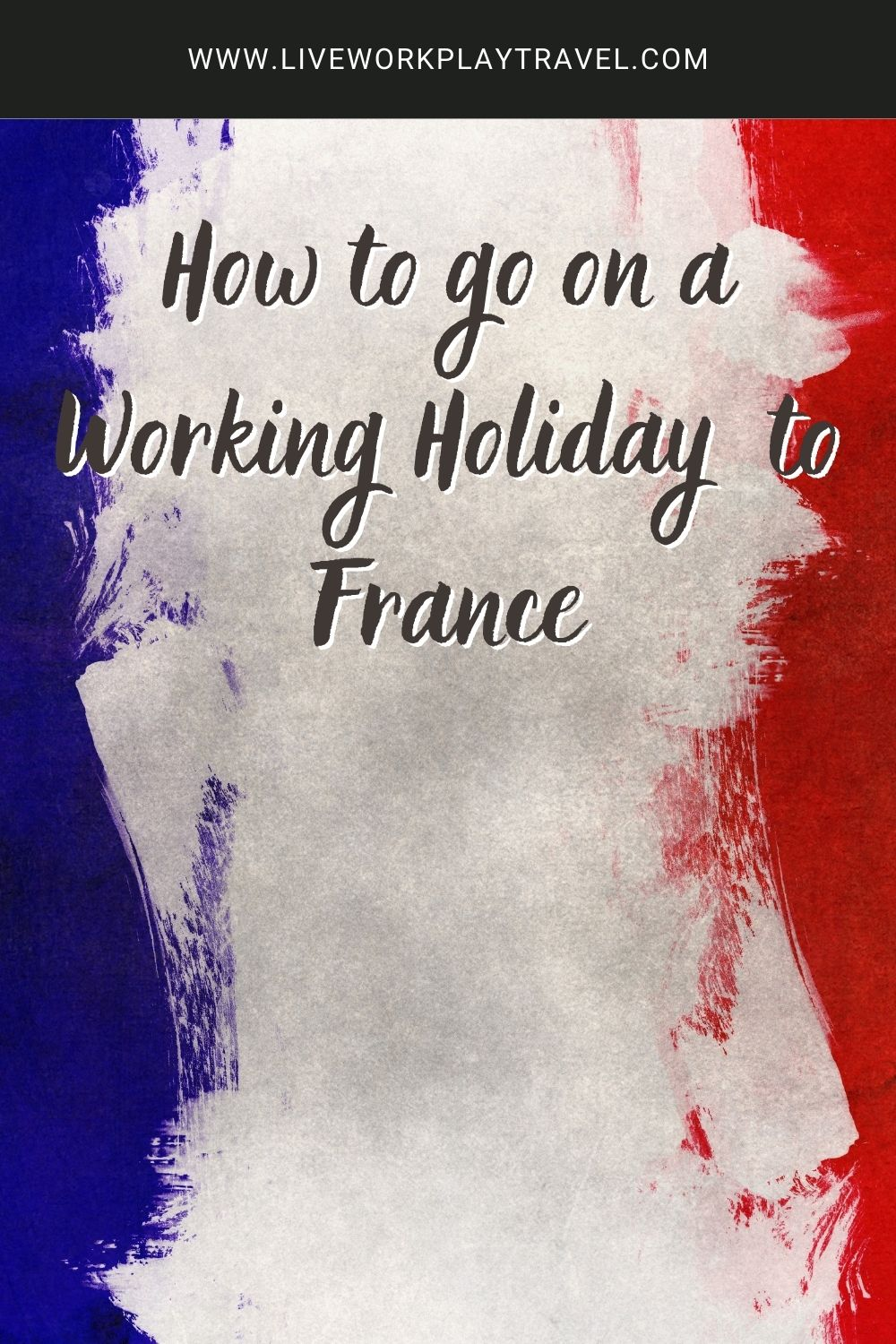 France's national colours are Red White And Blue. Experience An Extended Stay In France On A France Working Holiday Visa.