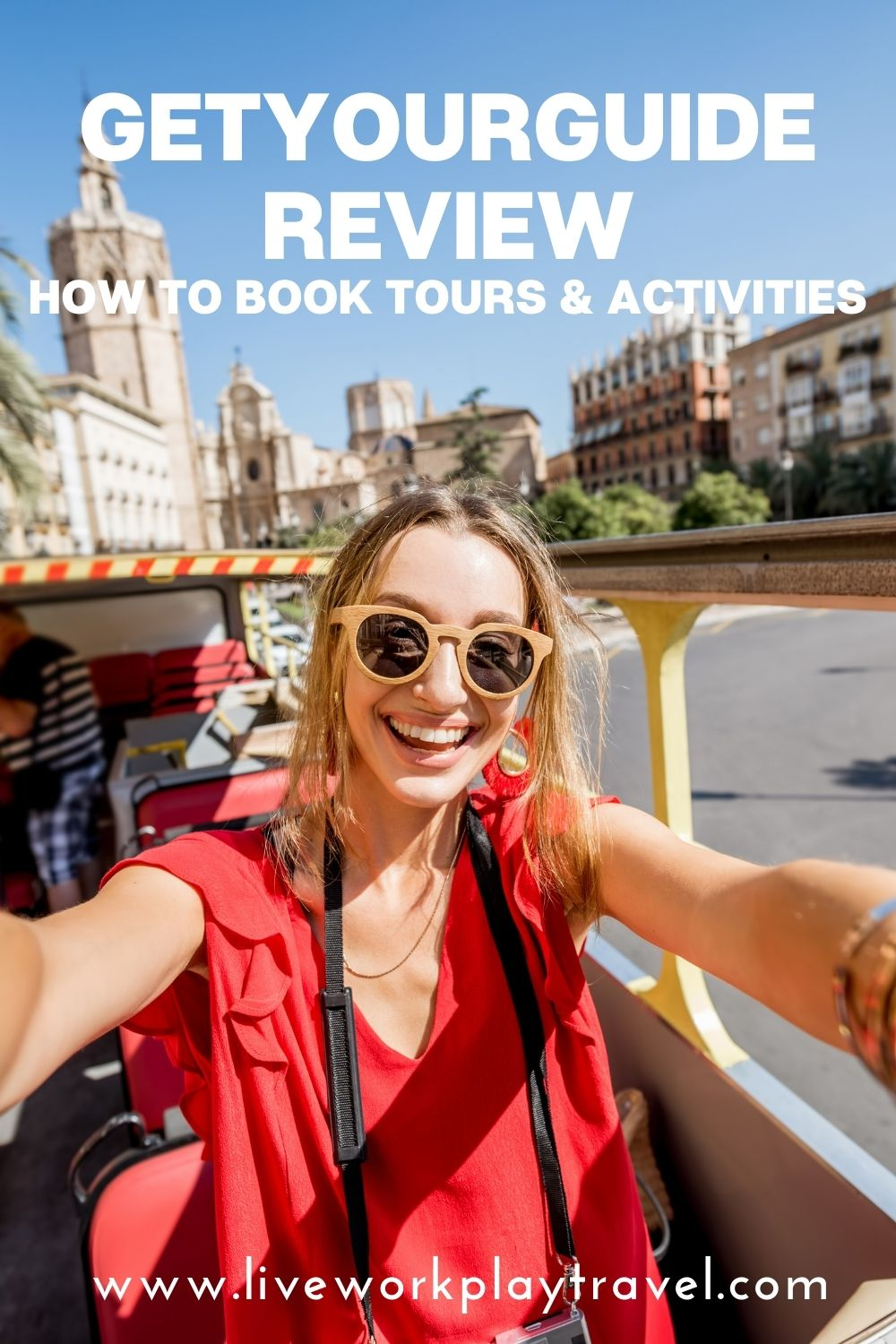 Girl On A Tour Booked Through GetYourGuide.