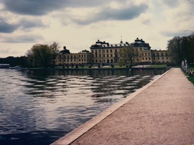 Drottingham Palace in Stockholm.
