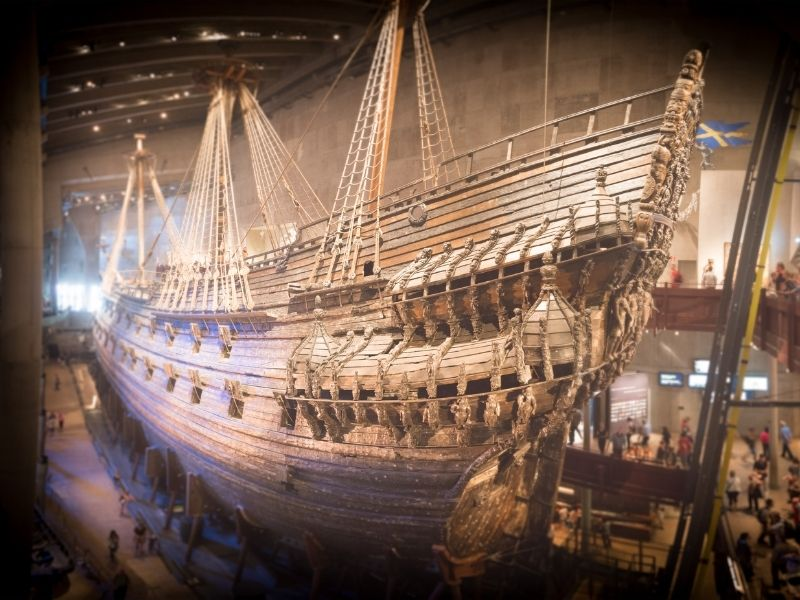 Vasa In The Vasa Museum Is A Must-See When In Stockholm. This Viking Ship Sunk Right After Setting Sail. It Sat In Mud For 300 Years But Was Salvaged And Restored And Sits Lovingly In The Vasa Museum.