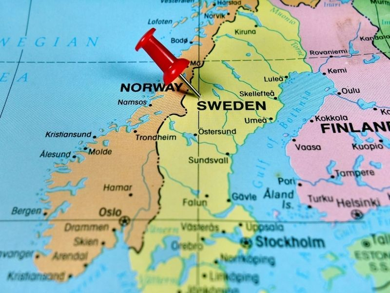Sweden Is A Country In Scandinavia. On A Map You Will See It Is The Largest Country In The Area. It Is A Great Place For A Woking Holiday.